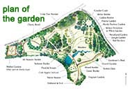 small map of the garden